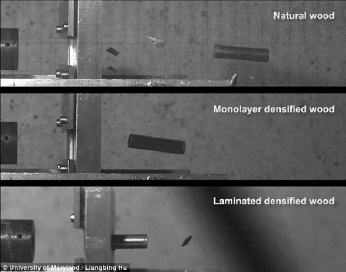 celik kadar guclu kursun gecirmez super yogunluklu tahta - Çelik Kadar Güçlü Kurşun Geçirmez Süper Yoğunluklu Tahta