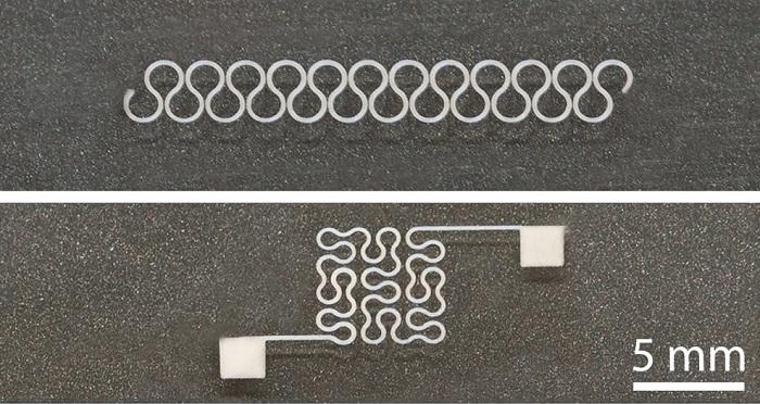 Araştırmacılar Esnek Gümüş Nanotel Devreler Bastılar