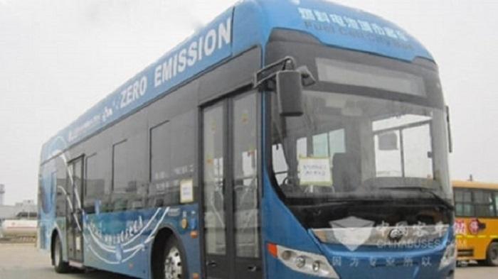 Çin'de Prototipi Üretilen Hidrojen Yakıtlı Otobüsün Testleri Tamamlandı