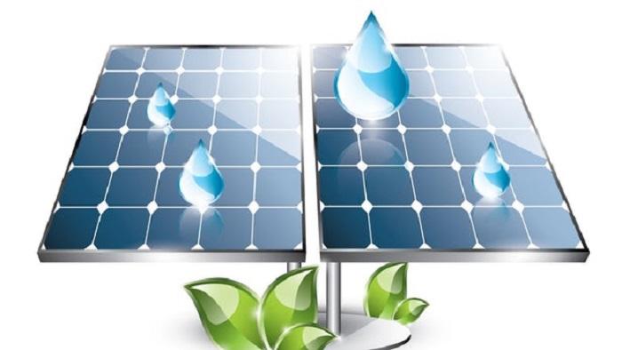 Güneş Işığı ve Yağmur Damlalarından Elektrik Üreten Hibrit Güneş Paneli