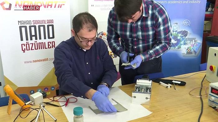 ODTÜ'lü Mühendislerden Kıyafetleri Isıtacak Teknoloji