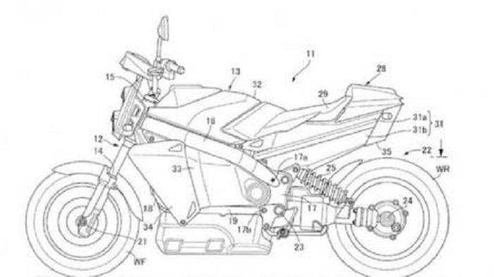 Honda, Hidrojen ile Çalışan Naked Bir Motosiklet Patenti Aldı