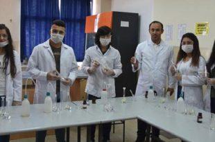okullarda uretilen temizlik malzemeleri koylere gonderiliyor 310x205 - Okullarda Üretilen Temizlik Malzemeleri Köylere Gönderiliyor