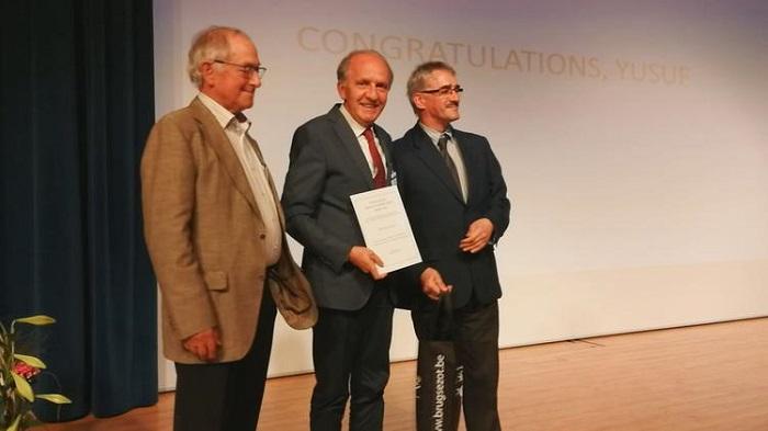 Prof. Dr. Yusuf Yağcı, Belçika Polimer Derneği Ödülü'nü Aldı