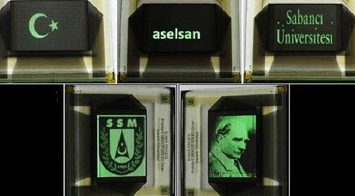 ASELSAN ve Sabancı Üniversitesi, Dünyanın En Yüksek Piksel Yoğunluğuna Sahip GOLED Ekranını Ürettiler
