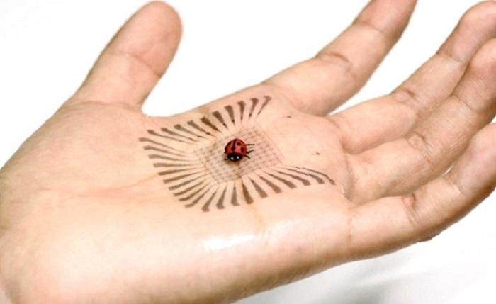 cin insanlarin saglik durumlarini kontrol edebilecek elektronik deri uretti - Çin, İnsanların Sağlık Durumlarını Kontrol Edebilecek 'Elektronik Deri' Üretti
