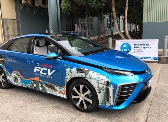 Dünyanın İlk Amonyak Temelli Hidrojen Arabası Test Edildi