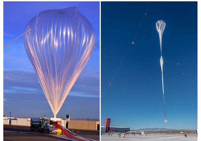 Helyum Gazı Dolu Devasa Balon, Turistleri Uzaya Çıkarmayı Planlıyor