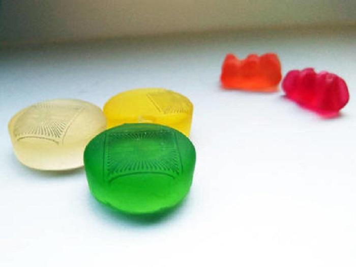 Jelibonların Üzerine Baskısı Yapılan Sensörler