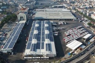 eshotun gunes santrali 1 5 milyon kwh enerji uretti 310x205 - ESHOT'un Güneş Santrali 1.5 Milyon kWh Enerji Üretti