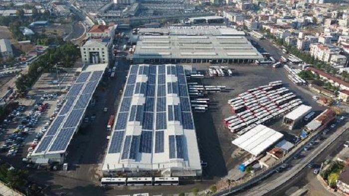 ESHOT'un Güneş Santrali 1.5 Milyon kWh Enerji Üretti