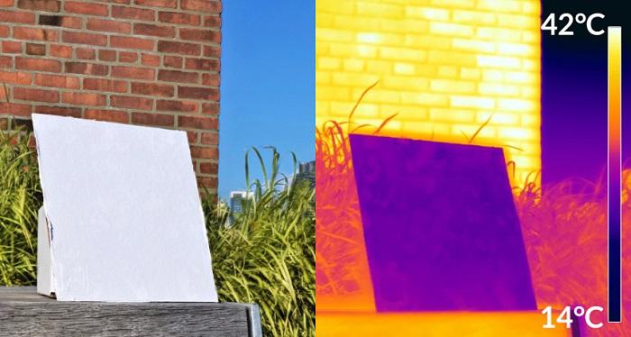 Bu Yansıtıcı Boya Güneşte Pişmiş Binaları Serin Tutabilir