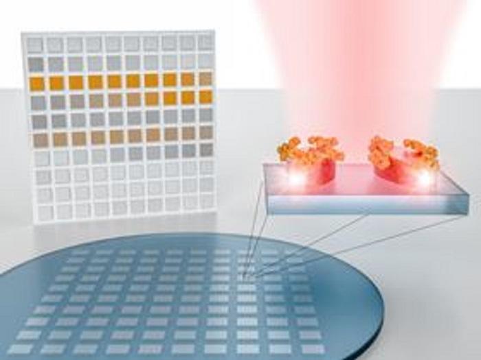 molekuler parmak izlerini okuyabilen yeni hassas nanofotonik sensor - Moleküler Parmak İzlerini Okuyabilen Yeni Hassas Nanofotonik Sensör