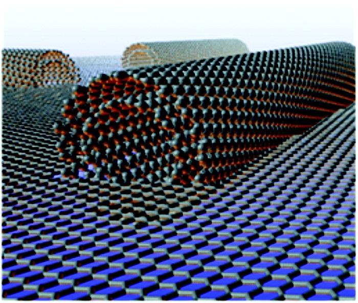 """nanotup ribar grafenin sertlesmesine yardimci oluyor - Nanotüp """"Ribar"""" Grafenin Sertleşmesine Yardımcı Oluyor"""