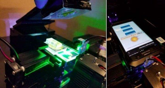Mühendisler Telefon Kamerasını Kullanarak Kandaki Ender Proteinleri Tespit Edebilecek
