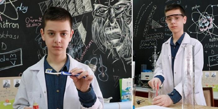 14 Yaşındaki Muhammet, Doğal Diş Macunu Üretti