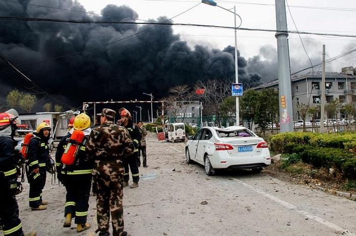 Çin'de Bir Kimya Tesisinin Patlaması Sonucunda 47 Kişi Hayatını Kaybetti