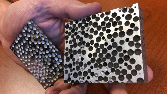 Bilim İnsanları, Hafif Yapıda ve Boş Metal İpliklerden Ürettikleri Köpük Benzeri Maddeyi Kullanarak, 0.50 Kalibrelik Mermileri Durdurmayı Başardı