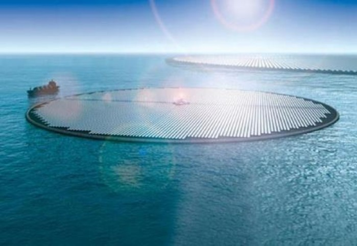 11 Milyon Yüzen Güneş Parkı Taşımacılık Sırasında Çıkan Karbon Emisyonuna Çözüm Olabilir