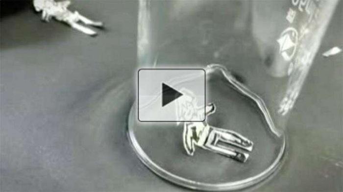 Kristalin 'Yapay Kas' Kağıttan Bebeğin Hareket Etmesini Sağlıyor