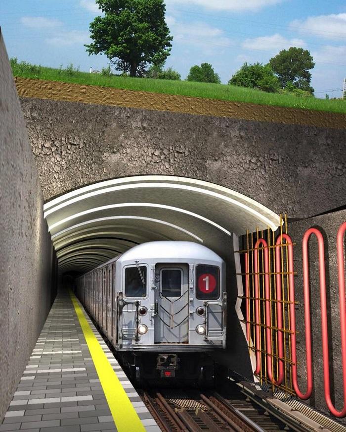 Metro Tünellerinden Elde Edilen Enerji Binlerce Evi Isıtabilir ve Soğutabilir