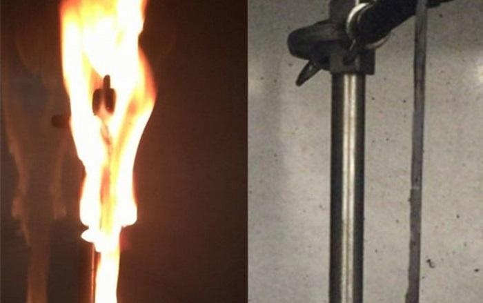Bitki Bazlı Alev Geciktiriciler Ateşe Karşı Koyma Konusunda Daha Az Zehirli Bir Seçenek Olabilir
