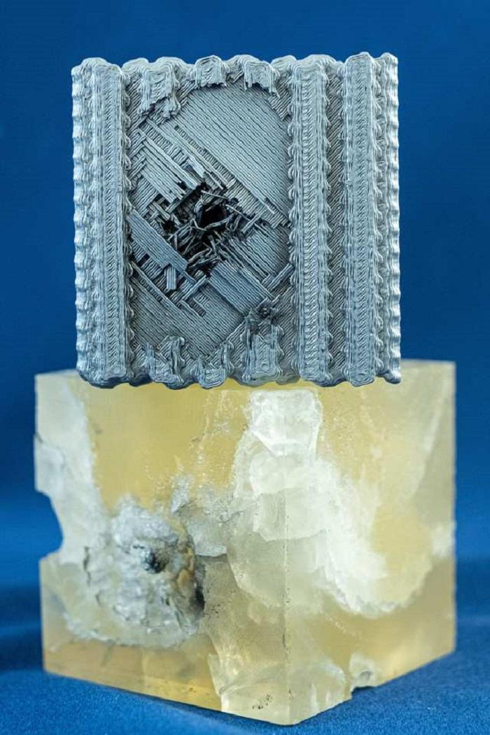 Rice Üniversitesi'nden Bilim İnsanları 3 Boyutlu Yazıcılar ile Kurşun Geçirmez Polimer Bloklar Ürettiler