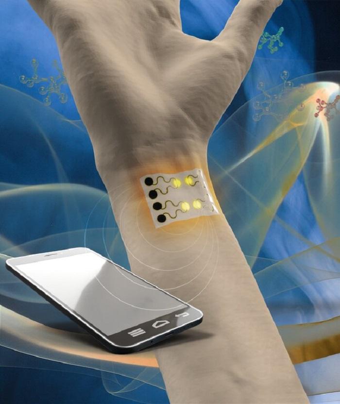 Sağlık ve Çevresel Gözetim için Giyilebilir Gaz Sensörü Üretiliyor