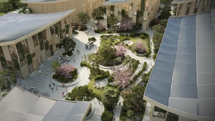 Toyota, Hidrojenden Güç Alan Akıllı Şehir Projesi Woven City'yi Tanıttı