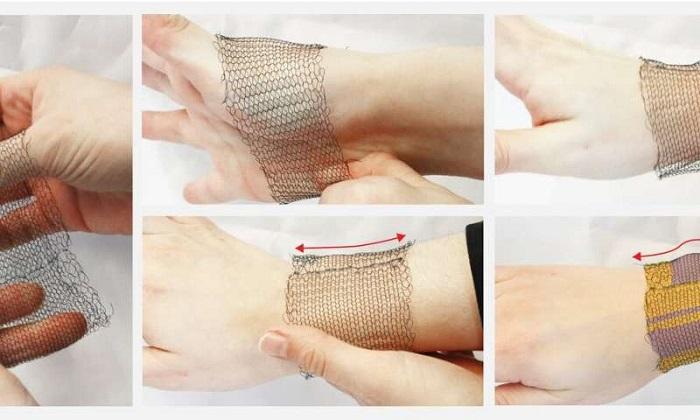 Vücut Sıcaklığı ile Şekil Değiştirebilen Tekstil Ürünlerinin İcadı
