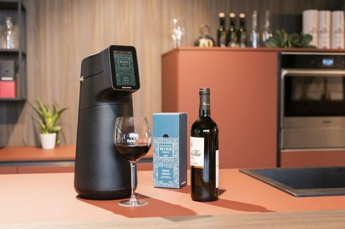 Akıllı Dispanser Şarabı İdeal Sıcaklıkta Servis Ediyor