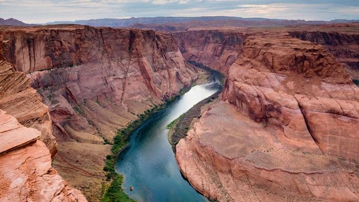 İklim Değişikliği Yavaşça Kolorado Nehri
