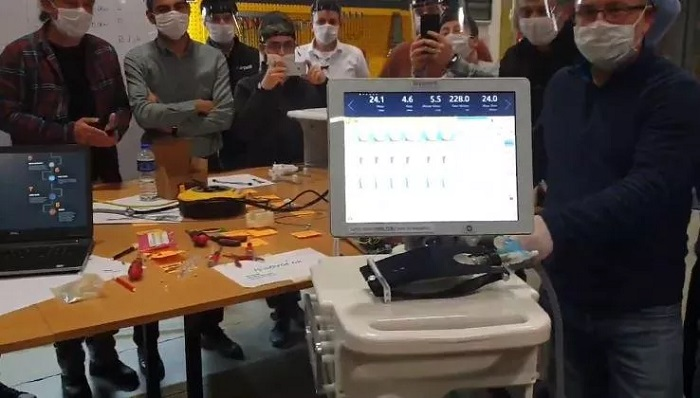 Yerli Solunum Cihazında İlk Prototip Üretimi Tamamlandı
