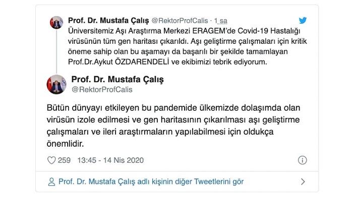 Türk Bilim İnsanları, SARS-CoV-2'nin Tüm Gen Haritasını Çıkarmayı Başardılar