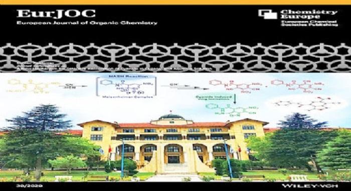 Gazi Üniversitesi Rektörlük Binası, Avrupa Organik Kimya Dergisi'ne Kapak Oldu