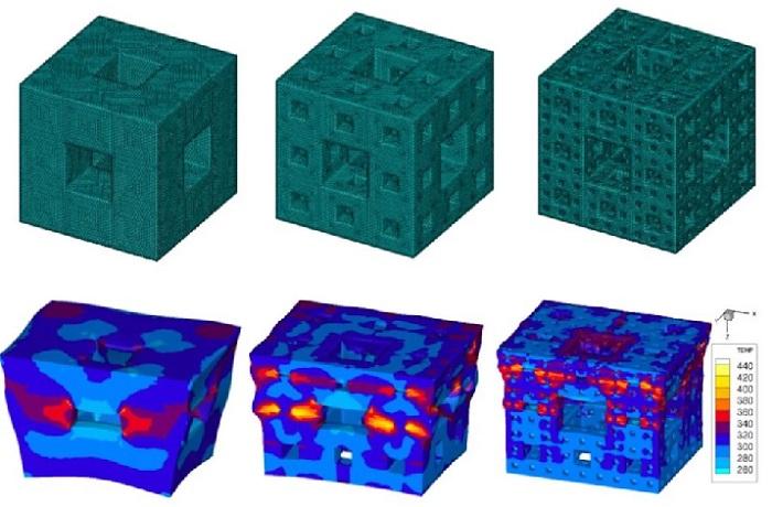Parçalı Boşluklu Küpler Daha Üstün Şok Karşıtı Zırhlar Yapılabilmesi için Kullanılabilir