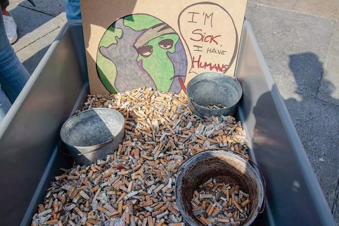 Sigara İzmaritleri, En Yaygın İnsan Kaynaklı Kirleticilerdir
