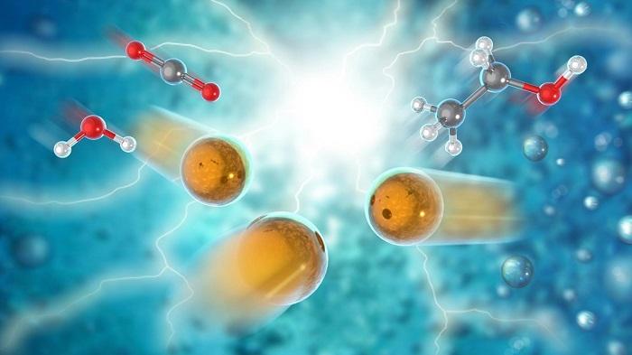 Çığır Açan Elektrokatalizör Karbondioksidi Etanole Dönüştürüyor