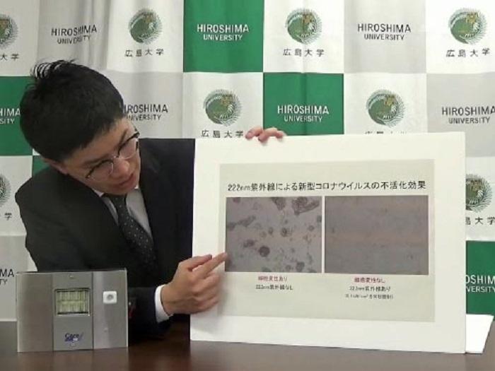 UV Işınının Covid-19 Virüsünü Etkili Bir Şekilde Öldürdüğünün İlk Kanıtı