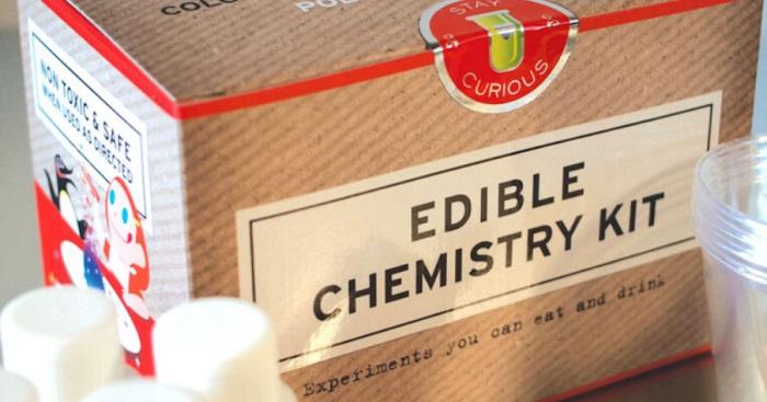 Yiyebileceğiniz Harika Bilim Deneylerine Sahip Yenilebilir Kimya Kiti