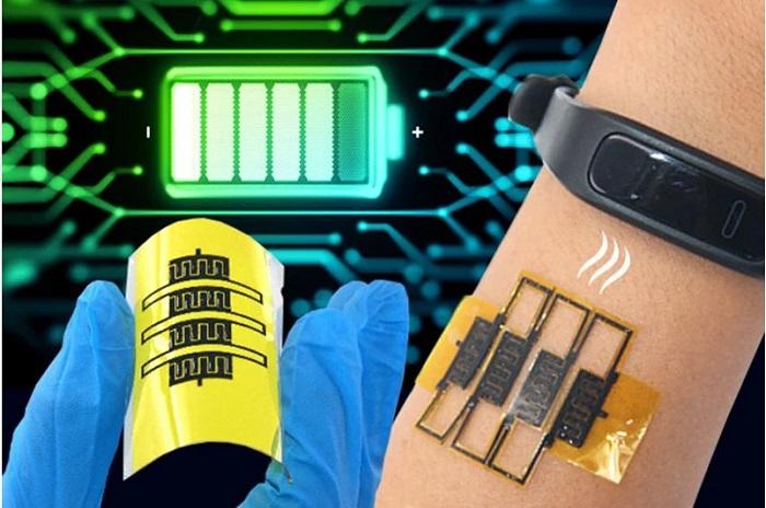 Giyilebilir Teknoloji Bataryasız Cihazlar için Yeni Teknoloji