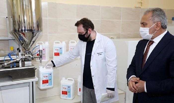 Yozgat Bozok Üniversitesi Tarafından Üretilen Temizlik ve Kozmetik Ürünlerinin Marka Tescili Yapıldı