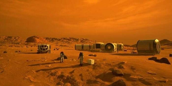 Mars'ta Yakıt Üretimi