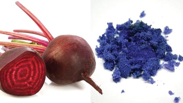 Pancar Kırmızıdır ama Kimya ile Pancardan Mavinin Renk Tonu Oluşturulabilir