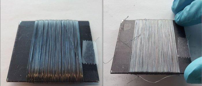 Renk Değiştiren Kaplama ile Performans Liflerinin Mekanik Gerilimi Gözle Görülebilir