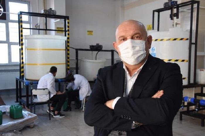 Öğrenciler Ürettikleri Dezenfektan ve Temizlik Ürünleriyle 1 Yılda 7,3 Milyonluk Ciro Yaptı