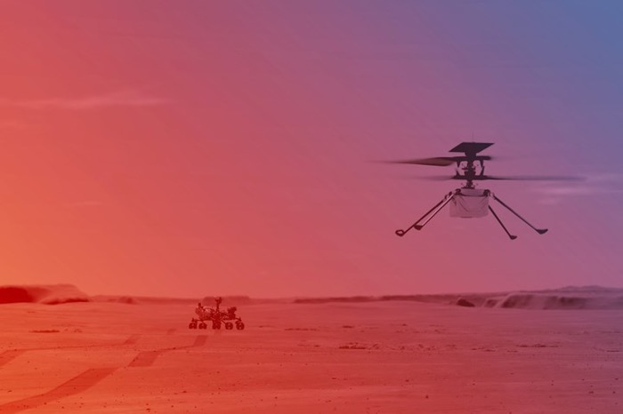 Bu Helikopter Mars'ta da Marifetli