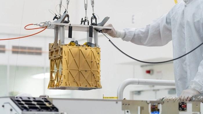 Mars'ta Oksijen Üretti