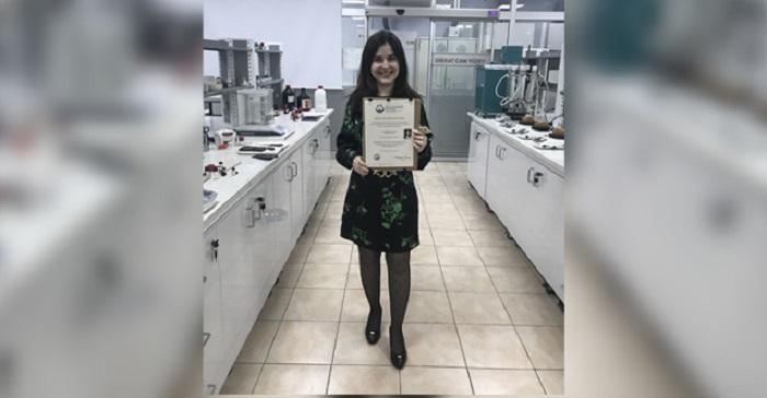 Prof. Dr. Mehlika Dilek Altıntop'a Seçkin Kadın Araştırmacısı Ödülü Verildi