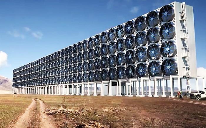 Atmosferden Emilen CO2, Kimyasal Prosesler için Yeniden Kullanılabilir